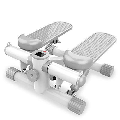 Stepper, Home Gewichtsverlust Maschine Klettermaschine Multifunktions Dünne Taille Maschine Ofenrohr Fußmaschine Freie Installation Fitness Equipment, silber
