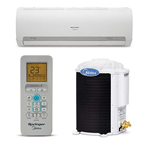 Ar Condicionado Split Hi Wall On Off Springer Midea 18000 Btus Quente/Frio 220v 1F 42MAQA18S5