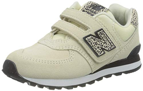 New Balance 574 YV574AND Medium, Zapatillas Niñas, White (Angora and), 28