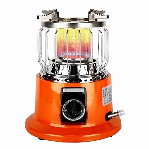 Calefacción Calentador De Pesca En Hielo, Calentador De Gas Licuado para Exteriores, Calentador De Gas Natural Ajustable...