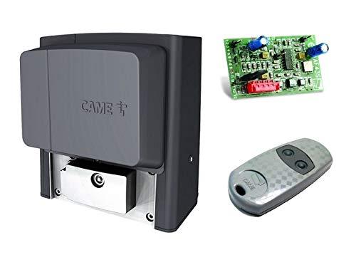 CAME BX704AGS Motor de compuerta deslizante + control remoto TOP432-EE, para puertas correderas que pesen hasta 400 kg (upgraded version of BX-74): Amazon.es: Bricolaje y herramientas