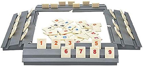 descuento de bajo precio DEH Diverdeido Diverdeido Diverdeido Juego de Rompecabezas Israel Mahjong Juego de Mesa clásico Rummy Tile de Movimiento rápido - Madera  disfrutando de sus compras