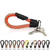 Tumatsch-Leder© Fair-Trade Schlüsselanhänger aus Echt-Leder in Handarbeit hergestellt....