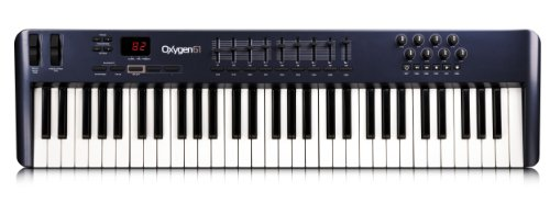 M-Audio Oxygen 61 - Teclado MIDI (USB, 238 x 94 x 1036 mm, Intel...