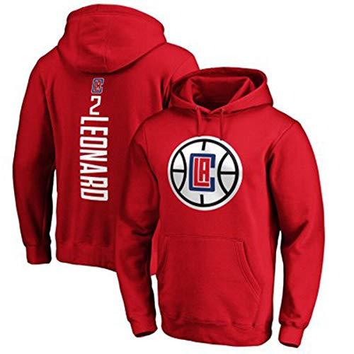 LMSSS Kawhi Leonard #2 - Camiseta deportiva para hombre, diseño de Los Ángeles Clippers de baloncesto para hombre, color rojo