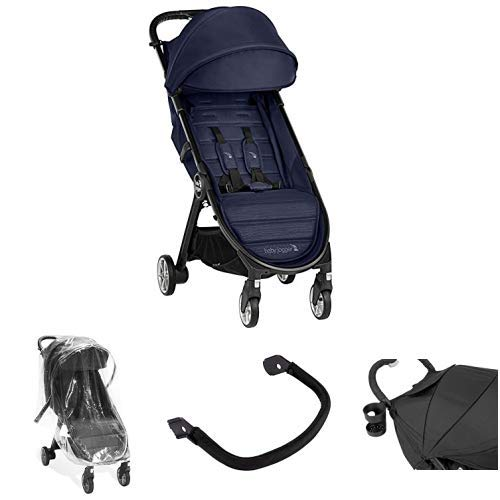 Baby Jogger Baby Jogger City Tour 2 Compact Fold Stroller with Belly Bar, Raincover and Drink Holder, Seacrest