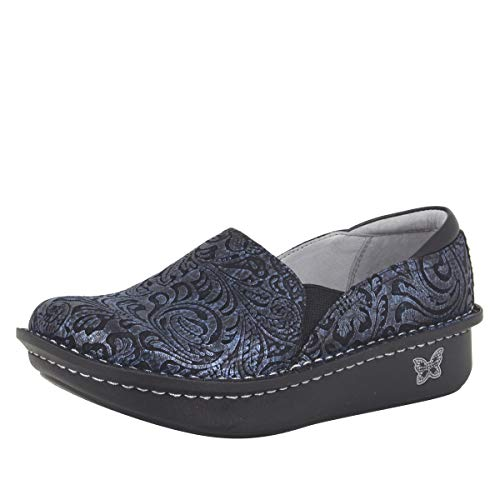 Alegria Debra Womens Professional Shoe Navy Swish 6 M US