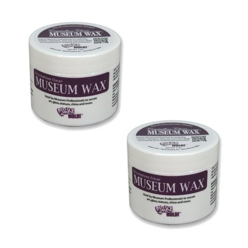 Quakehold! 66111 Museum Wax, 2 Ounce, Clear (2 Pack)