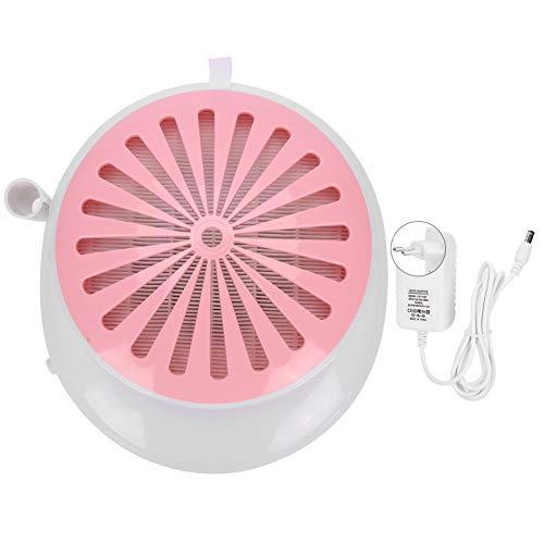 Extractor de Polvo de uñas, Colector de Polvo de uñas fácil de(Pink, European regulations)