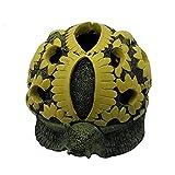 Ceniceros con tapa, diseño de caracol de tortuga para decoración del hogar y la oficina