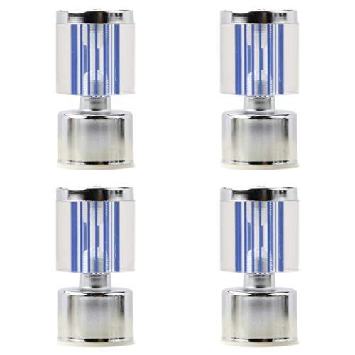 Patas para Muebles de Cristal Transparente Armario para TV Patas de Soporte...