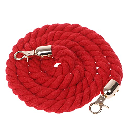 Generic Corde de Coton étroite bandoulière Sac Accessoires utilisés dans la décoration Jouets pour Animaux de Compagnie Tissage Arrangement de Fleurs Doux au Toucher Rouge