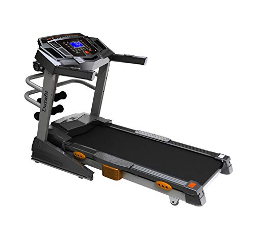 Durafit Heavy Hike Multifunction 2.5 HP (5.0 HP Peak) DC Motorized Treadmill with Auto Incline………