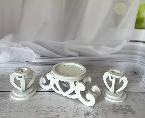 Unity Candle Holder-Unity Candle Stand-Unity Candle Holder Set-Pillar Candle Holder-Wedding Gift -Ceremony Decoration-Wedding Centerpiece