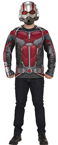 Rubie's Adult 700718 Marvel Avengers: Endgame Ant-Man Costume Top and Mask, As Shown, Extra-Large