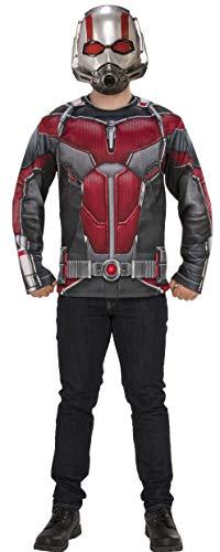 Rubie's Erwachsene, Kostüm, Oberteil und Maske Marvel: Avengers Endgame Ant-Man Costume Top and, Farbe wie abgebildet, Standard