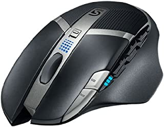 Logitech G602 Draadloze Gaming Muis, 2.500DPI, 11 Programmeerbare Knoppen, batterijduur 250 uur, on-board geheugen, PC/Mac...
