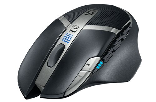 Logitech G602 Mouse Gaming Wireless, 2500 DPI, RGB, Design Leggero, 11 Pulsanti Programmabili, Batteria Fino a 250h, Memoria Integrata, Compatibile con PC/Mac/Laptop, Nero (Antracite‎)