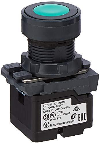 Schneider ZB5RTA3 XB5 Sender, Betätigungselement aus Kunststoff, Tastenschild, Grün, durchmesser 22mm