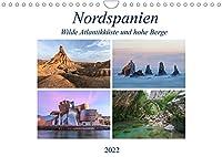 Nordspanien, wilde Atlantikkueste und hohe Berge (Wandkalender 2022 DIN A4 quer): Nordspanien ist das etwas andere Spanien, abseits von Massentourismus und Strandurlaubern. (Monatskalender, 14 Seiten )