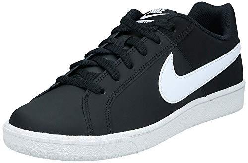 Nike Court Royale, Bas femme - Noir (Black/White 010), 39 EU