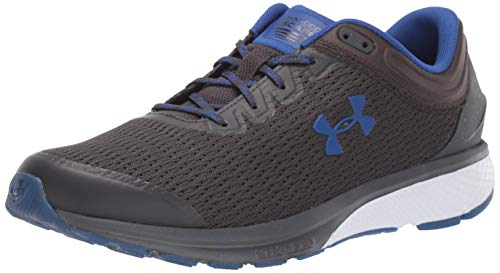 Under Armour Men's Charged Escape 3 Running Shoe, Jet Gray (103)/White, 7
