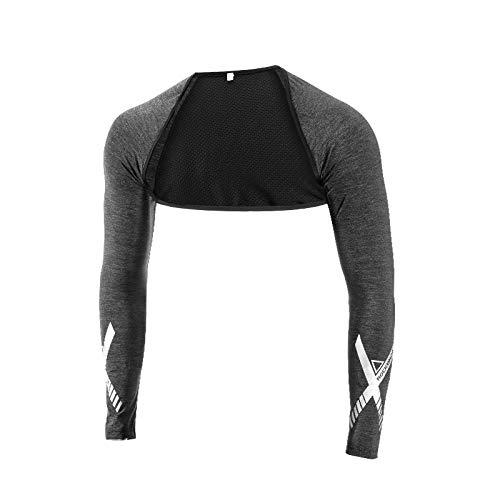 ILCD Ice Silk atmungsaktiv UV-Schutz Arm-Hülsen Fitness Basketball-Schal Cuff Sport Radfahren Außen Armlinge,M