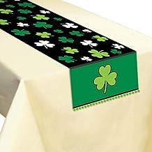 Amscan St Patricks Table Runner