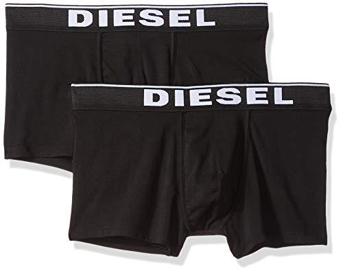 Diesel UMBX-DAMIENTWOPACK, Slip Uomo, Nero (Black/Black E1350-0Jkkb), XL, Pacco da 2