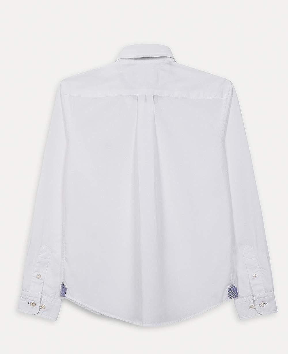 Hackett London Plain Poplin Blusa para Ni/ños