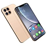 Desbloquee el teléfono, i12Pro MAX, Android10.0, 12GB RAM 512GB ROM, 5G Dual Card Dual Standby Smartphone 6.7 Pulgadas FHD, 18MP 48MP, DOGE5000mAh, desbloqueo Facial