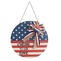 JIABIN 新7.4独立記念日ブランドの装飾、ホリデーブランド家の庭の装飾カード、アメリカ独立記念日パーティーの装飾