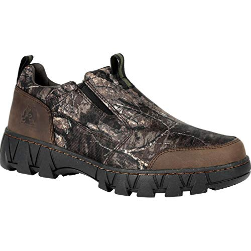 Leather Slip on Camo Hunting Shoes for Men