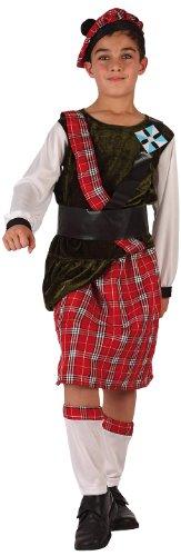 Atosa-6129 Disfraz Escoces, color rojo, 5 A 6 Años (6129)