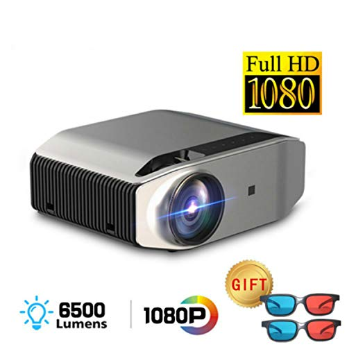 """HD Projector-YG620 Latest LED Video Projector / 6000Lux / 300""""Display/Contrast 7000: 1 / Compatible with Firetv, HDMI, VGA, USB, Laptop and Smartphone for Powerpoint Presentation (620)"""