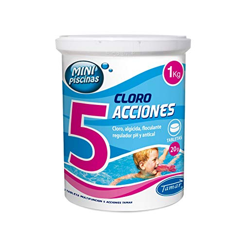 LOLAhome Cloro en tabletas de 20 gr para Mini Piscinas de 5...