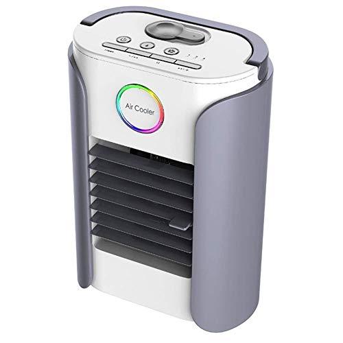 HaoLi Multifunktionaler Luftkühler Office Desktop Mini Luftbefeuchter mit kleinem Lüfter Kleiner Lüfter mit Klimaanlage