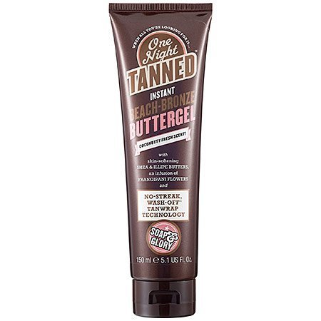 Soap And Glory One Night Tanned Instant Beach Bronzed Buttergel No Streak 150ml by CoCo-Shop