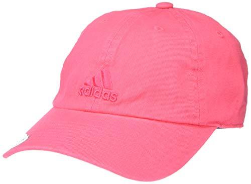 adidas Damen Saturday Relaxed Adjustable Cap Hut, Pink - Real Pink, Einheitsgröße