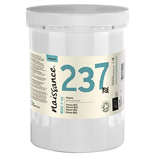 Naissance Palmöl (Nr 237) 1kg (1000g) BIO zertifiziert 100% rein aus nachhaltigem Anbau