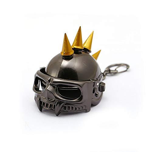 Game Jewelry Battleground Pubg Helmet Keychains 3d Open Keyrings Holder Level 3 Helmet Men Valentine...