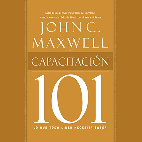 Capacitación 101 [Training 101] audiobook cover art