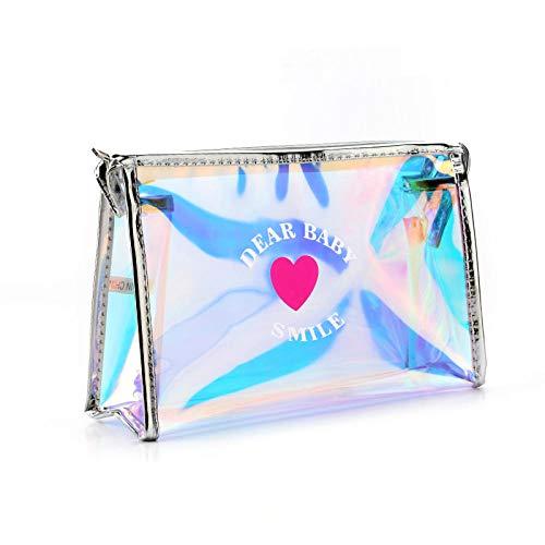 Sacs à cosmétiques Mode Cuir Femmes Make Up Bag PVC Pouch Wash Organisateur de Voyage Case 18.5 * 7.5 * 10.5cm-10_18.5 * 7.5 * 10.5cm