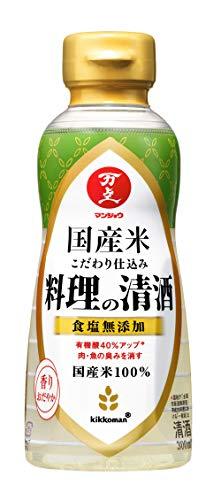 キッコーマン食品 マンジョウ 国産米こだわり仕込み 料理の清酒 [ 日本酒 300ml ]