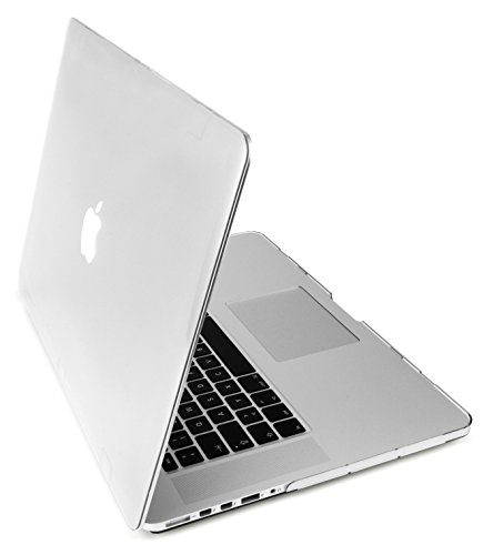 MyGadget Hülle Crystal Clear Case für Apple MacBook Pro Retina 15