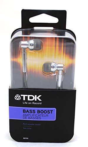 TDK EB750 InEar Aluminum Noise Reducing Headphones
