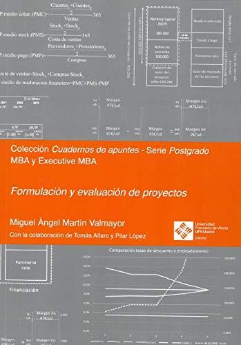 Formulación y evaluación de proyectos: 7 (Cuadernos de apuntes)
