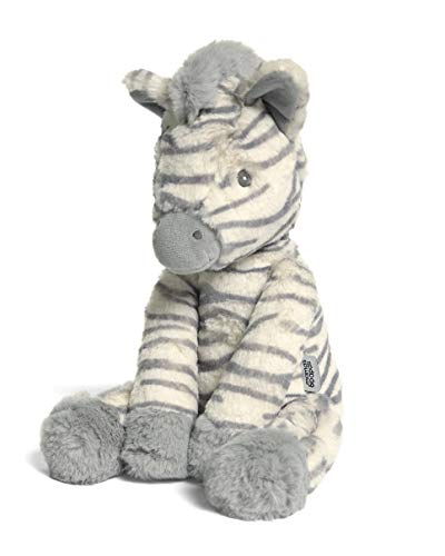 Mamas & Papas Super Soft Plush Toy, Suitable from Birth, Perfect Newborn Gift, Welcome to The World - Ziggy Zebra