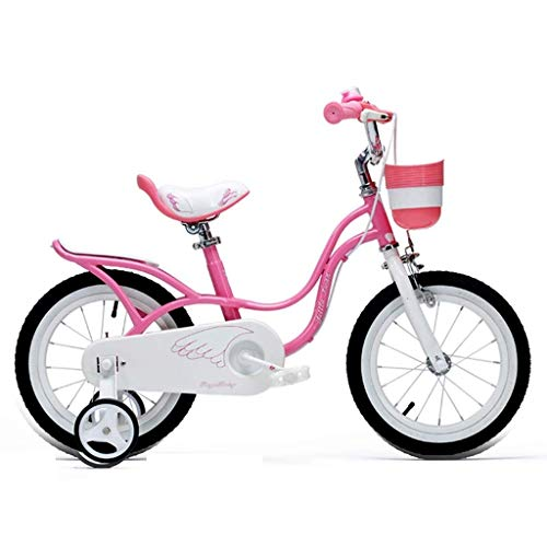 Why Choose DYFYMXBicycle Child Pedal Bicycle Pink Swan Girl Child Child Bike Size 12″ 14″ 16″ 18″ with Stabilizer and Basket Safe Exercise for Boys and Girls (Size : D)