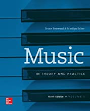 Music in Theory and Practice, Vol. 1 with Workbook